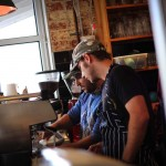 Pickers Union Geelong's baristas focusing on a quality brew