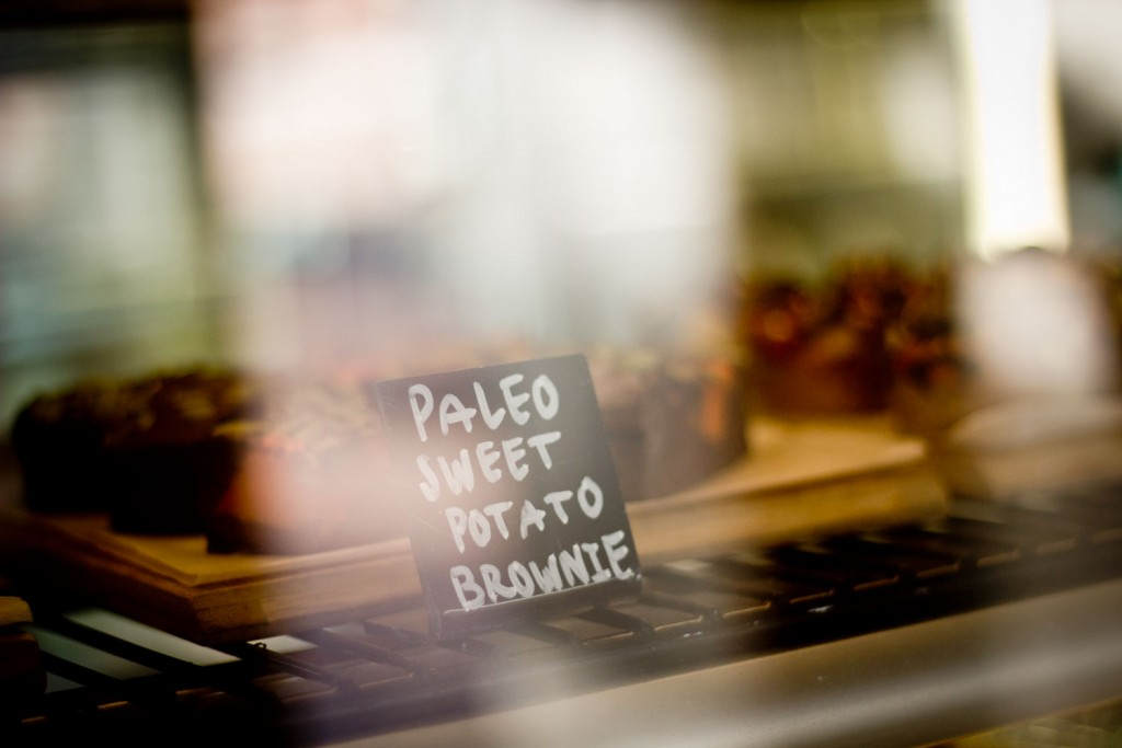 63 Degrees Cafe Geelong - Paleo Sweet Potato Brownie Before Purchase