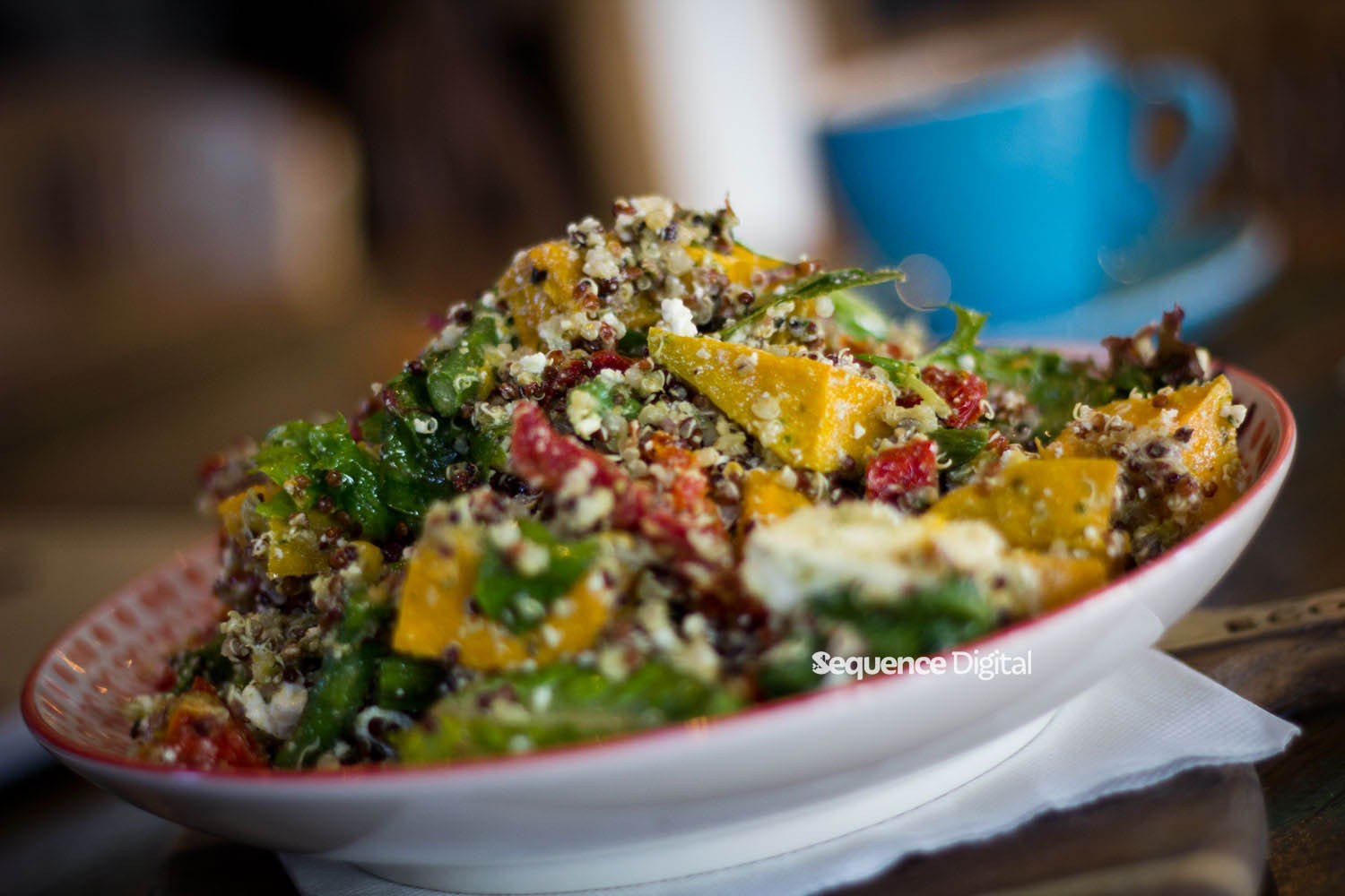 63 Degrees Cafe Geelong - Quinoa Salad