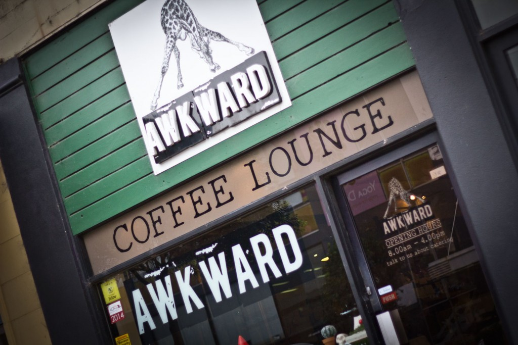 Awkward Cafe Geelong - From the front