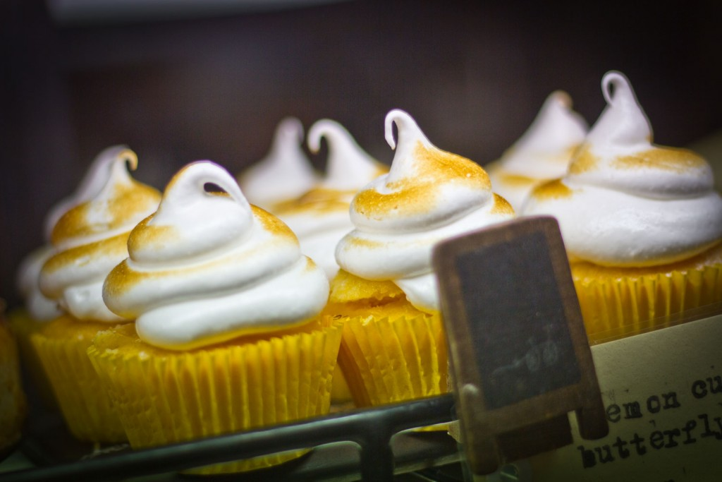 Awkward Cafe Geelong - Lemon Curd Cupcakes