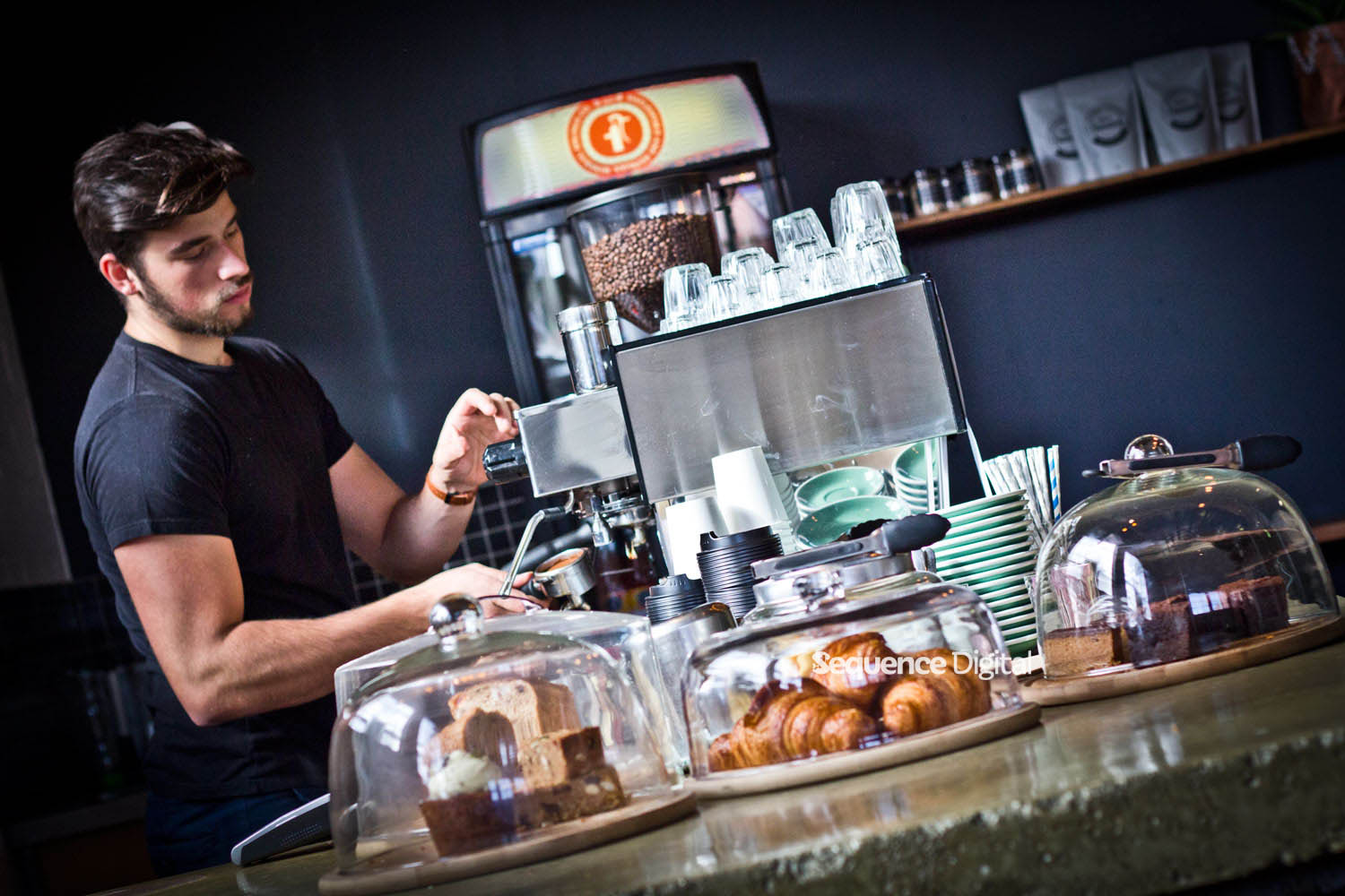 Dirty Rascal Cafe Geelong - Making Coffee