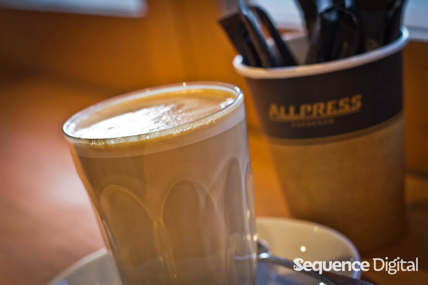 Huckster & Co Geelong - Allpress Latte