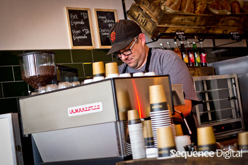 Huckster & Co Geelong - Brewing Coffee