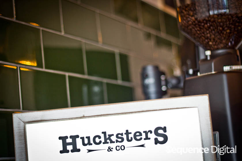 Huckster & Co Geelong - Menu Sign