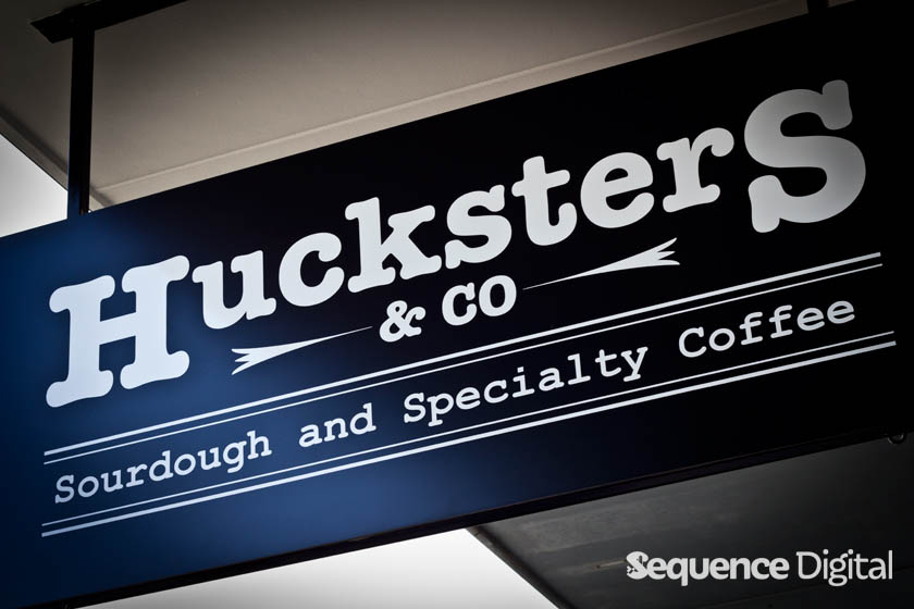 Huckster & Co Geelong - Signage