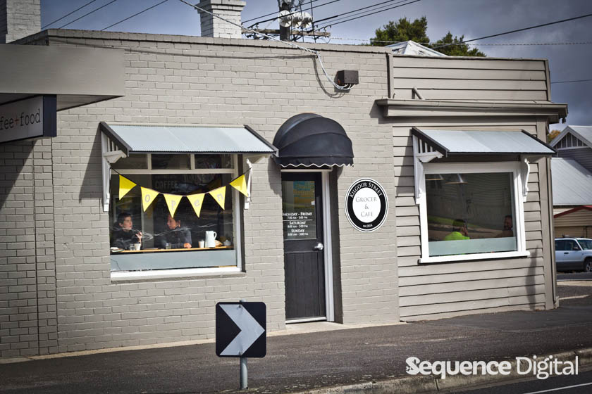 Kilgour Street Cafe and Grocer Geelong - From the Outside