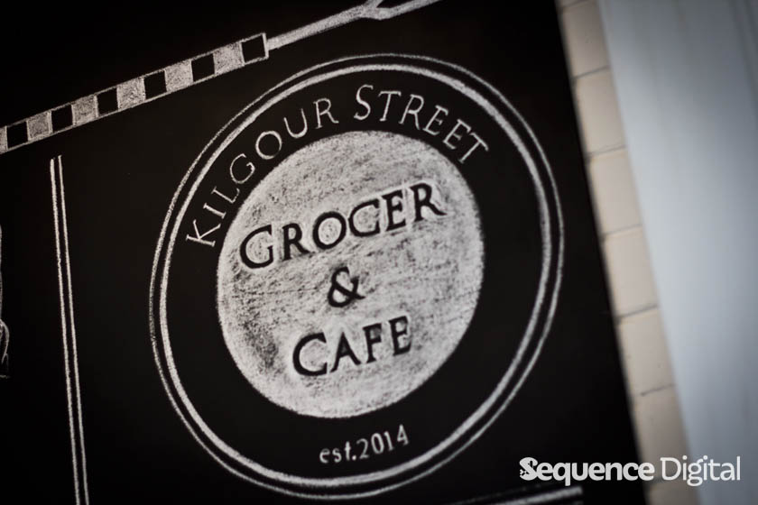Kilgour Street Cafe and Grocer Geelong - Signage