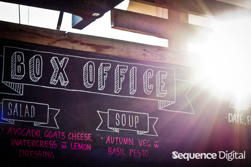 Menu - Box Office Geelong