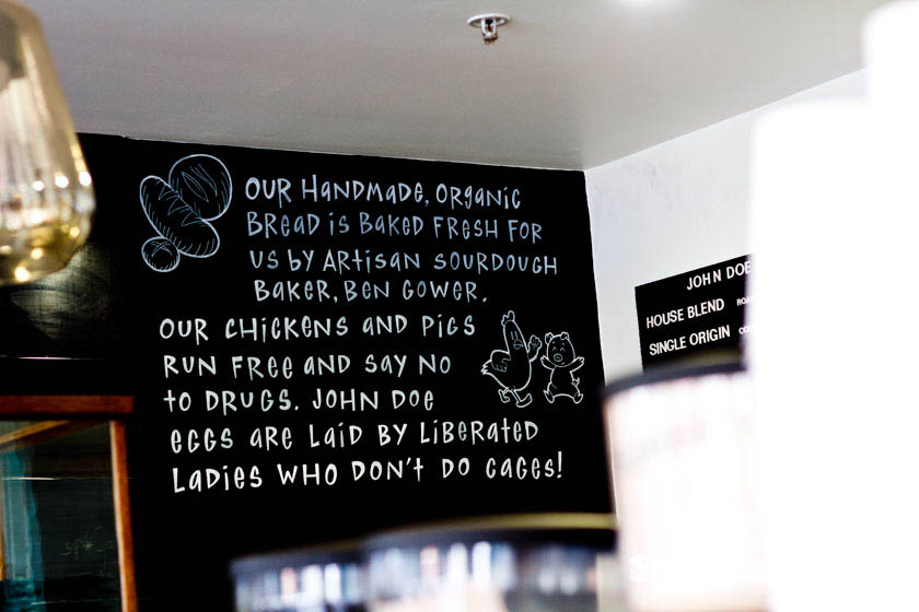 Drug free chickens - John Doe Specialty Coffee Geelong