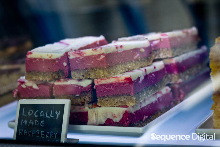 Fabretto Brothers Geelong - Locally Made Raspberry Cake