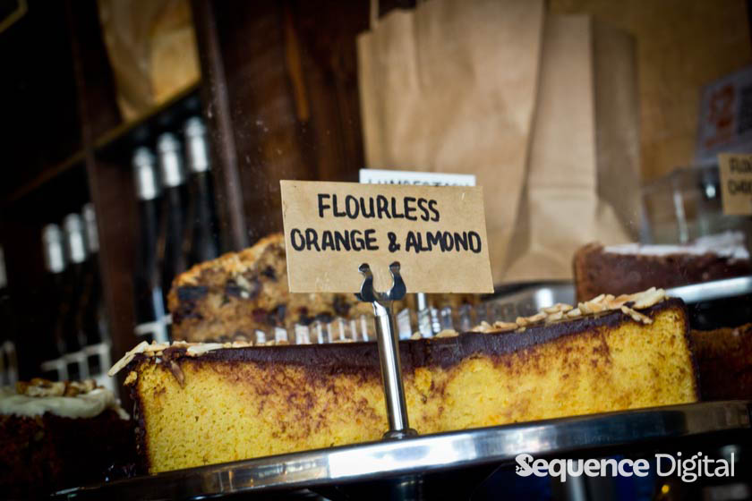 Flourless Orange and Almond Cake - James Street Bakery Geelong