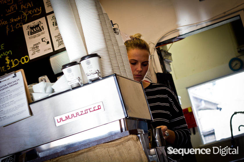 Focused Barista - Lavish Cafe Geelong