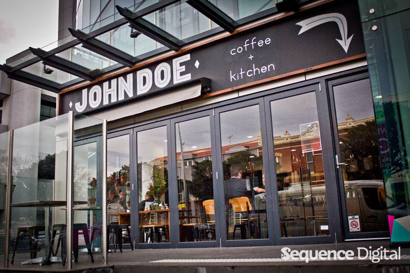 From outside - John Doe Specialty Coffee Geelong