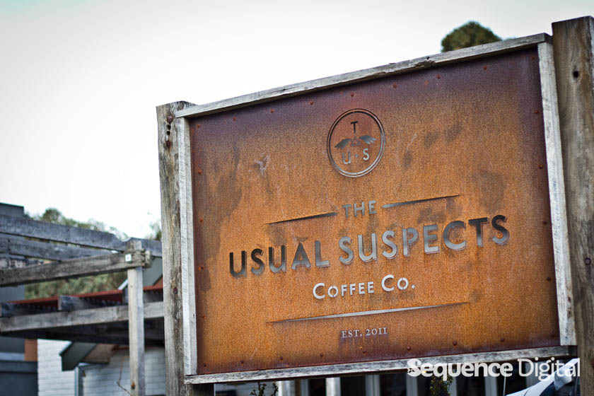 Front Sign - The Usual Suspects