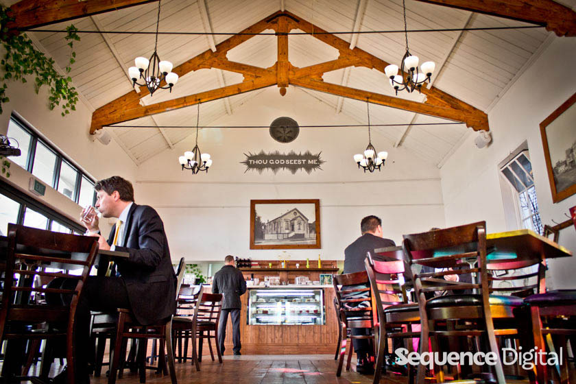 Inside - Chapel on Little Ryrie Cafe Geelong