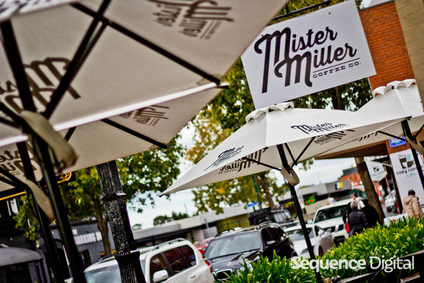 Out front - Mister Miller Geelong