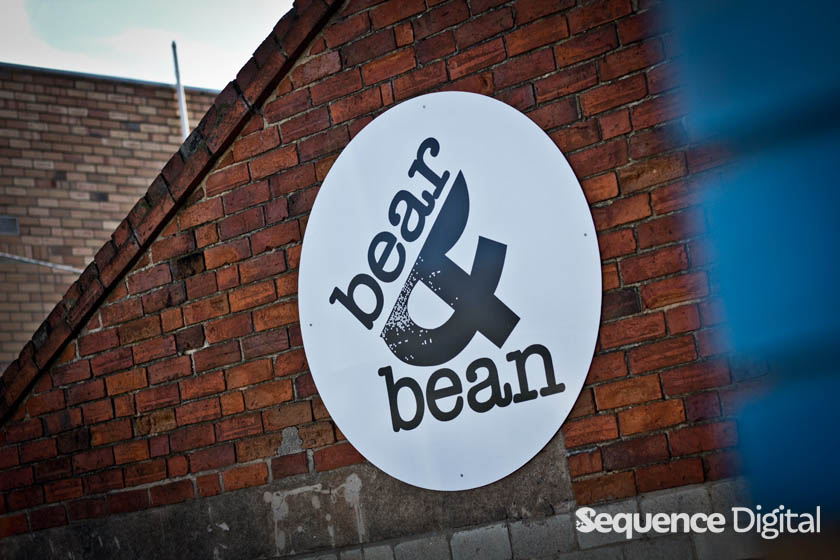 Outside Sign - Bear and Bean Geelong