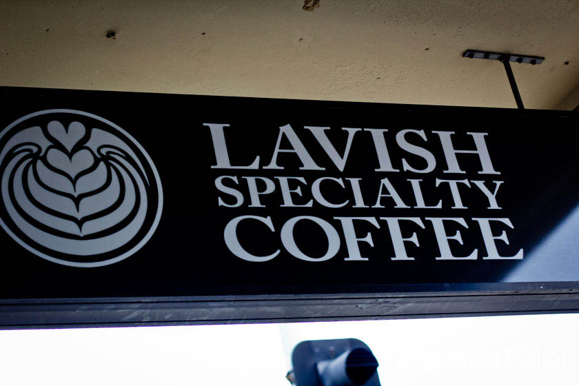 Sign - Lavish Cafe Geelong