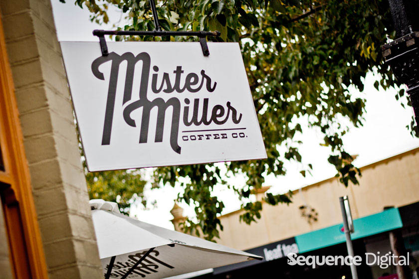 Sign - Mister Miller Geelong