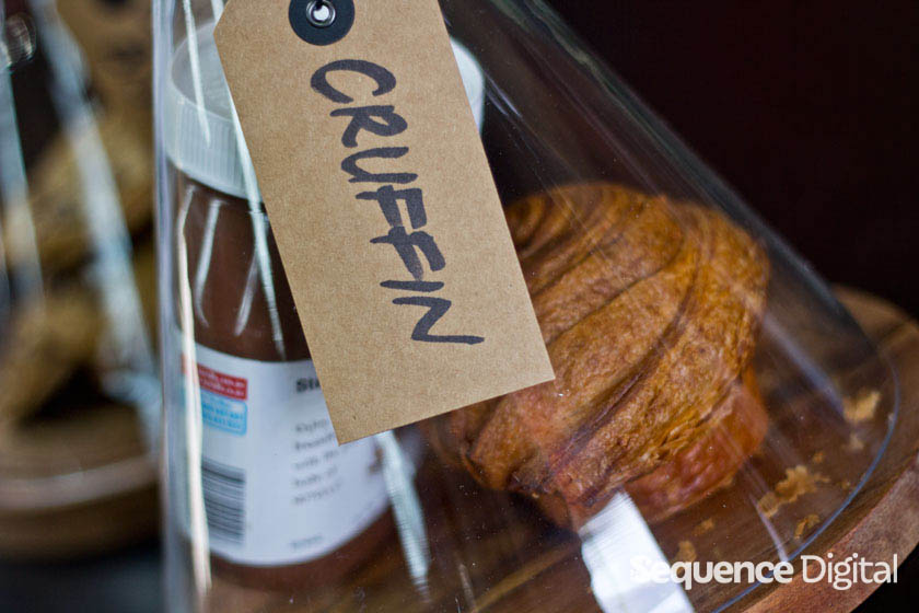 Mule Coffee Shed Geelong - Cruffin Nutella Muffin