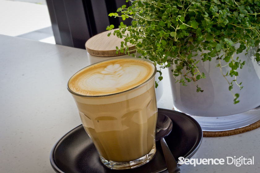 Neck of the Woods Geelong - Perfect Latte
